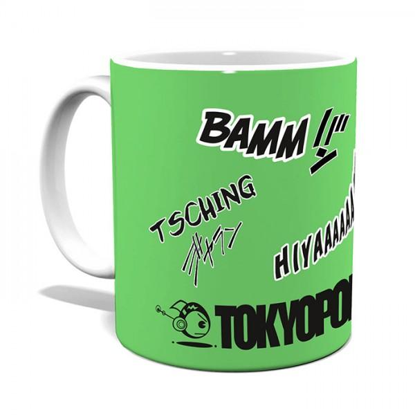 TOKYOPOP Tasse mit Shonen-Soundwords