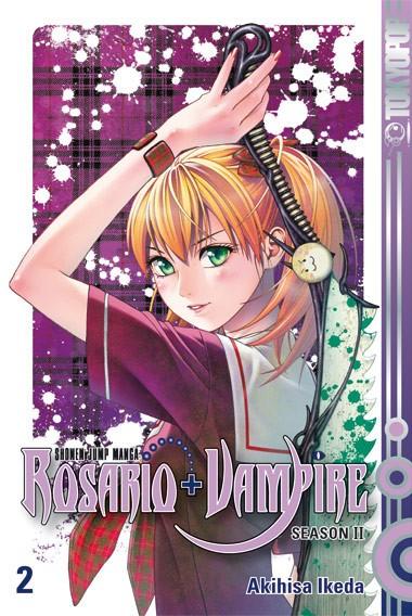 Rosario + Vampire Season II, Band 02