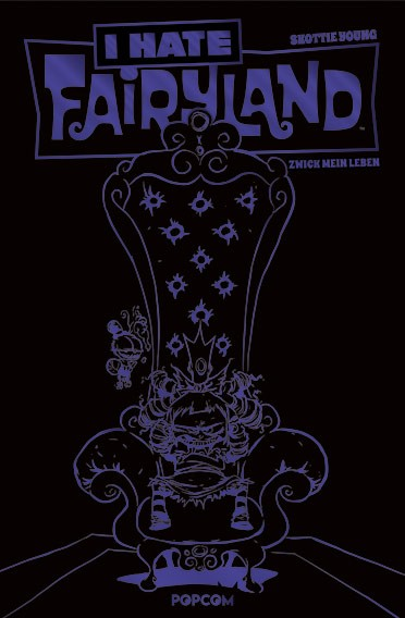 I Hate Fairyland, Band 02: Zwick mein Leben (lila Limited Edition)