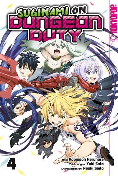 Suginami on Dungeon Duty, Band 04 (Abschlussband)