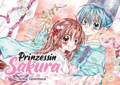 Postkarte: Prinzessin Sakura