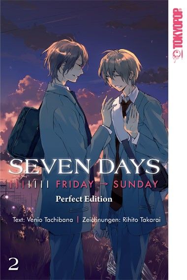 Seven Days, Band 02: Friday → Sunday Perfect Edition (Abschlussband)