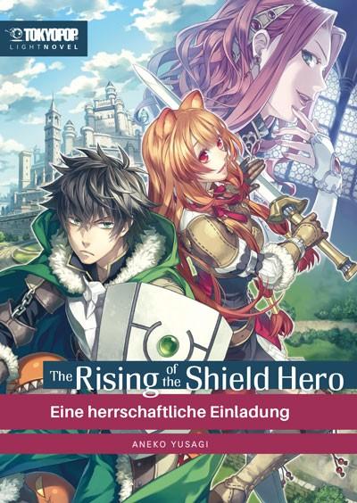 Postkarte: Shield Hero Light Novel