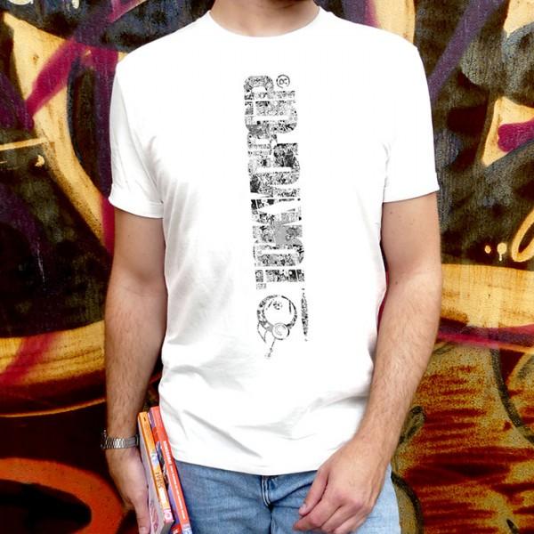 Weißes T-Shirt TOKYOPOP Logo Panel Brust