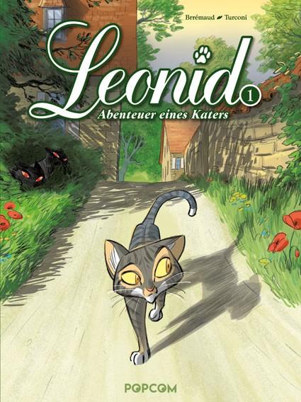 Leonid – Abenteuer eines Katers, Band 01: Die zwei Albinos