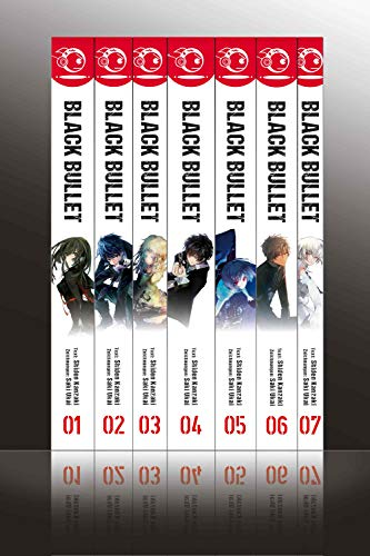 Black Bullet – Light Novel  Bundle (eBook)