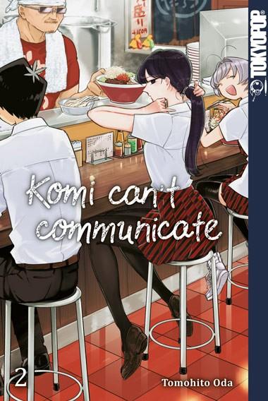 Komi can't communicate, Band 02