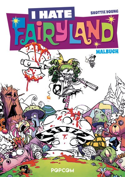 I Hate Fairyland – Malbuch