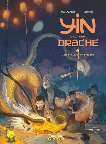 Yin und der Drache, Band 02: Goldene Drachenschuppen