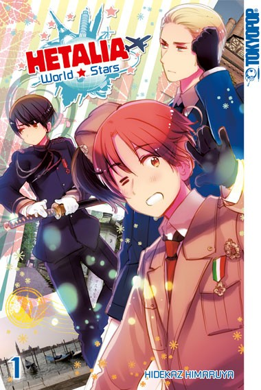 Hetalia World☆Stars, Band 01