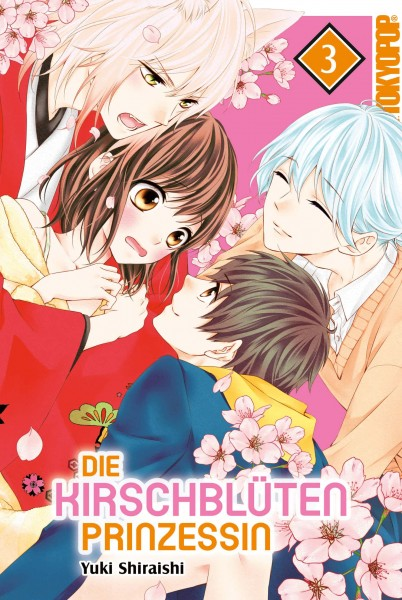 Die Kirschblütenprinzessin, Band 03