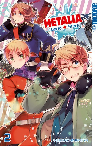 Hetalia World☆Stars, Band 02