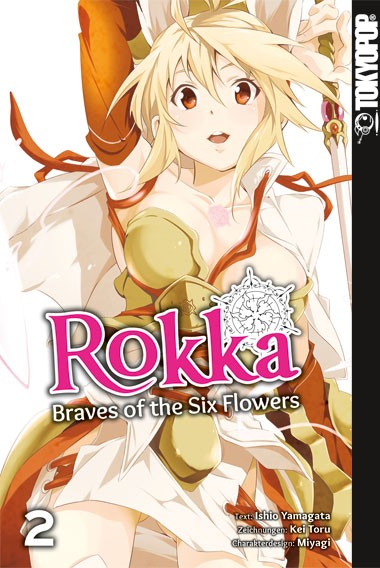 Rokka – Braves of the Six Flowers, Band 02