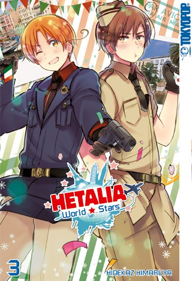 Hetalia World☆Stars, Band 03