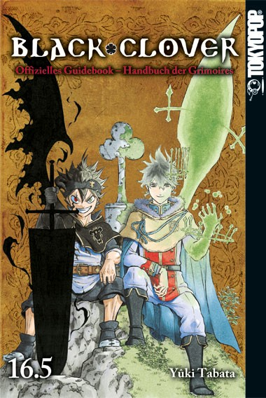 Black Clover 16.5 – Handbuch der Grimoires (Guidebook)