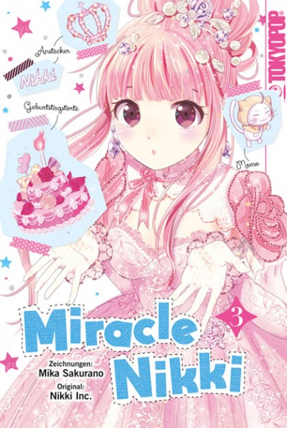 Miracle Nikki, Band 03 (Abschlussband)