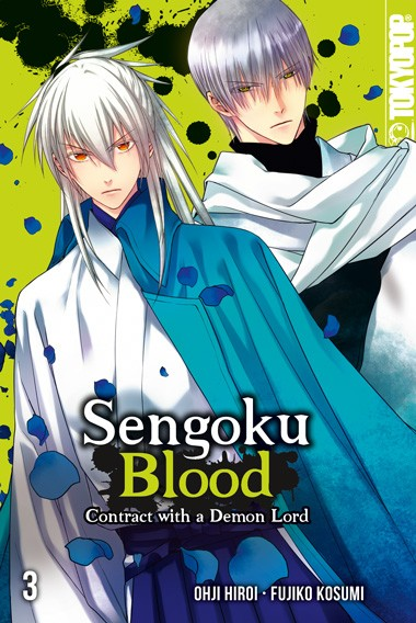 Sengoku Blood - Contract with a Demon Lord, Band 03