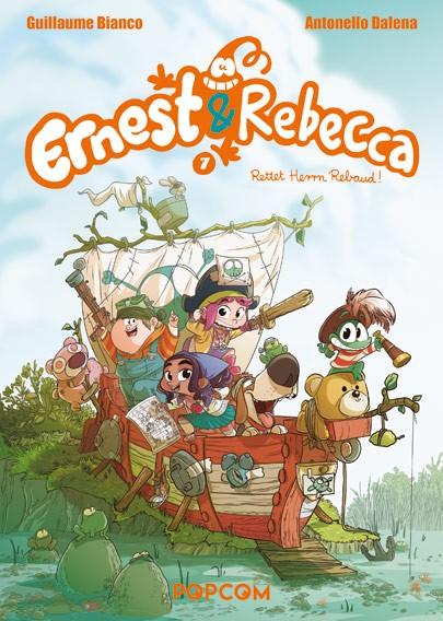 Ernest & Rebecca, Band 07: Rettet Herrn Rebaud!