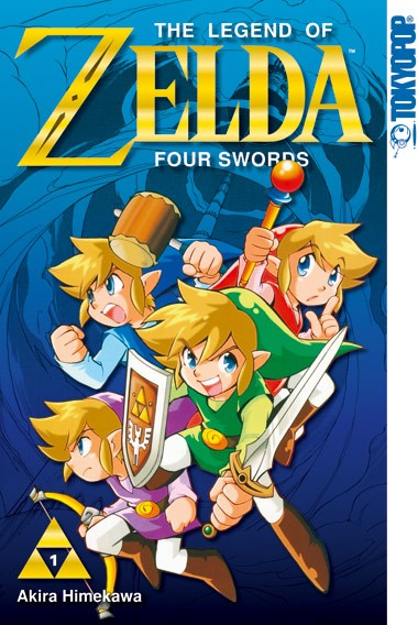 The Legend of Zelda: Four Swords, Band 01