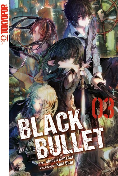 Black Bullet – Light Novel, Band 03