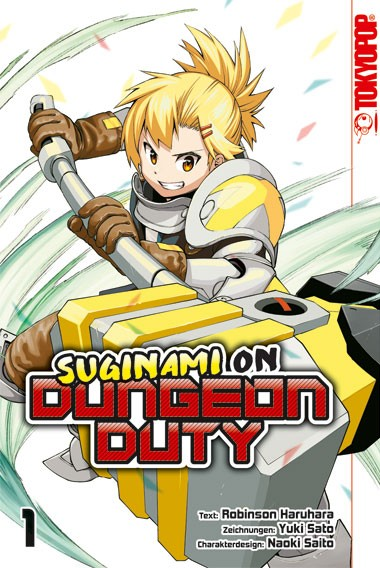 Suginami on Dungeon Duty, Band 01