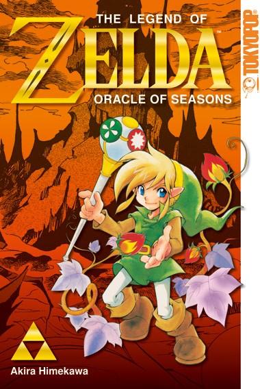 The Legend of Zelda: Oracle of Seasons, Einzelband