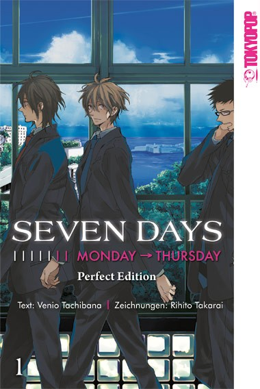Seven Days, Band 01: Monday → Thursday Perfect Edition