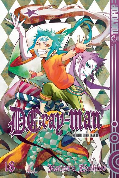 D.Gray-man, Band 18