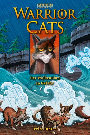 Warrior Cats, Band 04: Der WolkenClan in Gefahr