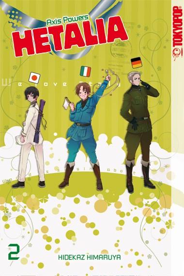 Hetalia – Axis Powers, Band 02