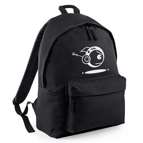 Schwarzer Backpack TOKYOPOP Robofisch