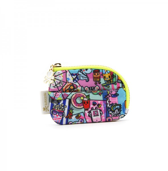 Pool Party Zip Coin Purse Multi