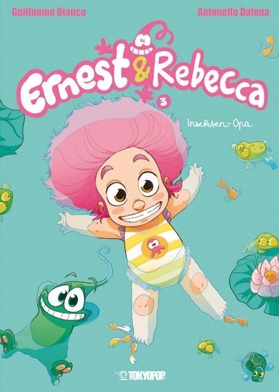 Ernest & Rebecca, Band 03: Insekten-Opa