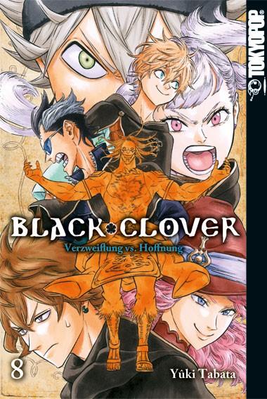 Black Clover – Verzweiflung vs. Hoffnung, Band 08