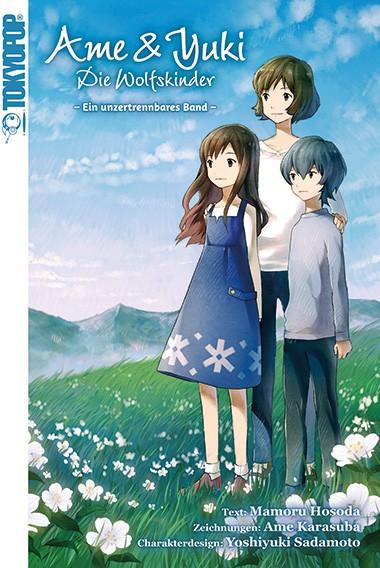 Ame & Yuki: Die Wolfskinder – Ein unzertrennliches Band – Light Novel