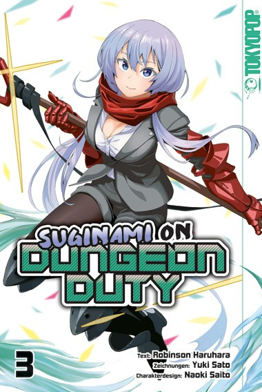 Suginami on Dungeon Duty, Band 03