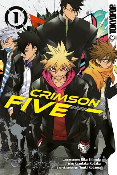 Crimson Five, Band 01