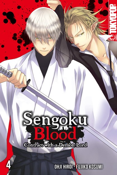 Sengoku Blood - Contract with a Demon Lord, Band 04 (Abschlussband)