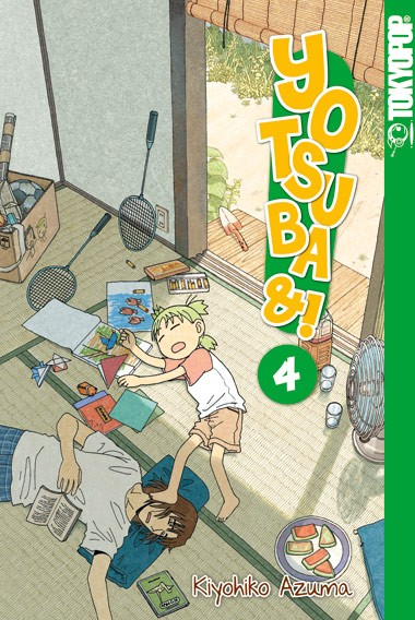 Yotsuba&!, Band 04