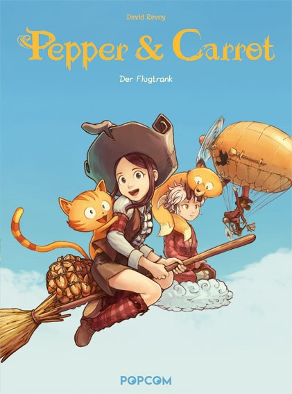 Pepper & Carrot, Band 01