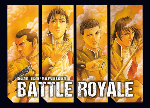 Postkarte - Battle Royale