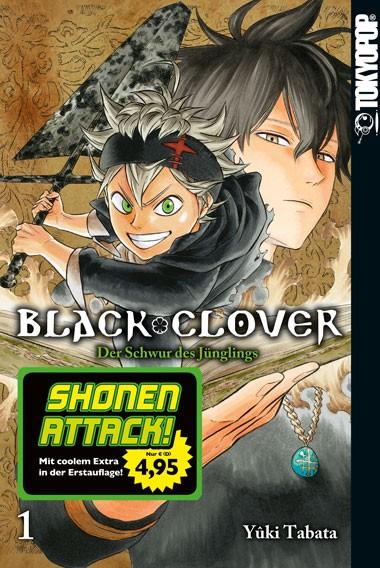 Black Clover – Der Schwur des Jünglings, Band 01